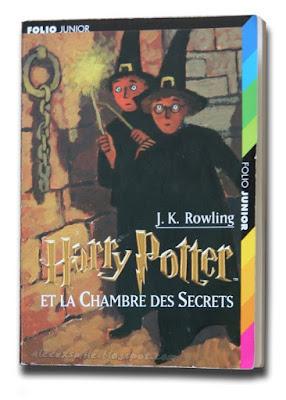 Harry Potter zagraniczne wydania - Francja -  e la chambre des secrets