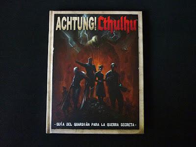 Reseña: Achtung! Cthulhu La Guía del Guardián para la Guerra Secreta (EDGE)