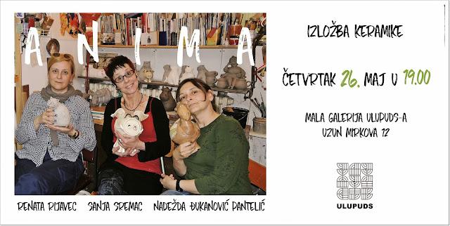 Anima - izložba keramike