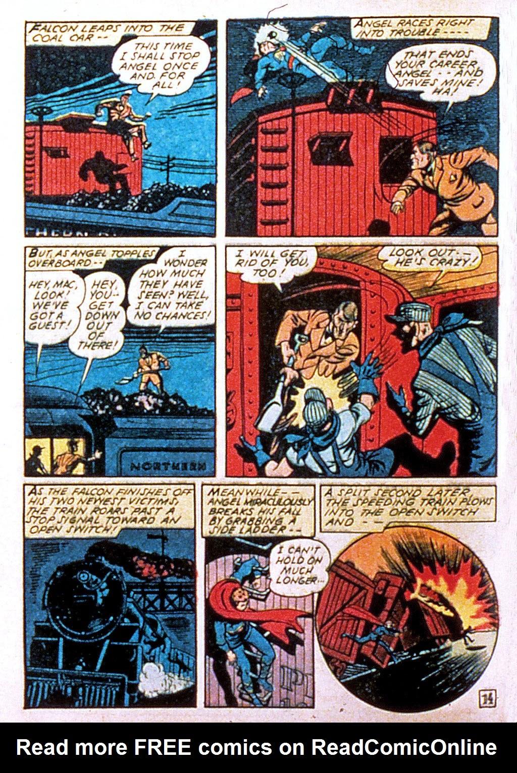 Read online Mystic Comics (1944) comic -  Issue #1 - 16