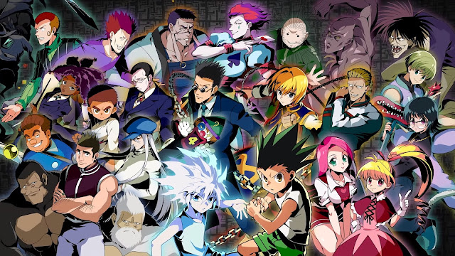 wallpaper hunter x hunter all characters greed island arc