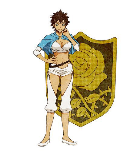 Haruna Kakiage como Sol Marron, miembro de las Rosas Azules.