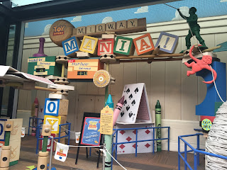 Toy Story Midway Mania Pixar Place Entrance