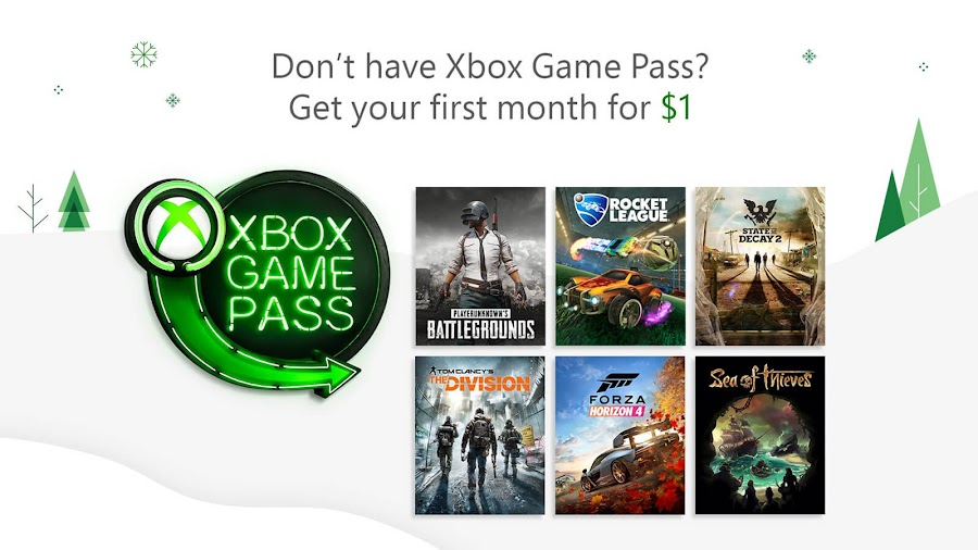 xbox game pass black friday deals 2018