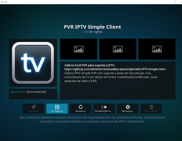 IPTV simple client PVR