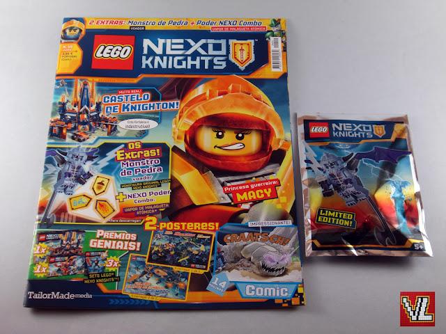 Revista LEGO Nexo Knights #10 - junho 2018
