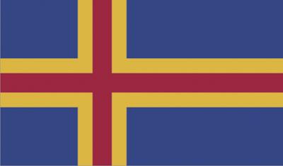 Gambar Bendera Negara Aland
