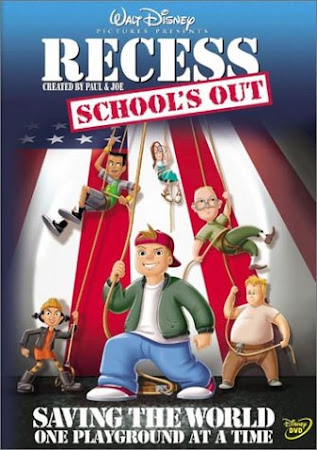 Poster Of Recess: School's Out In Dual Audio Hindi English 300MB Compressed Small Size Pc Movie Free Download Only At worldfree4u.com