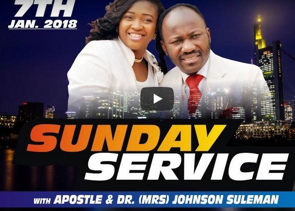 LIVE With Apostle Johnson Suleman Sun. 7th Jan. 2018 Service