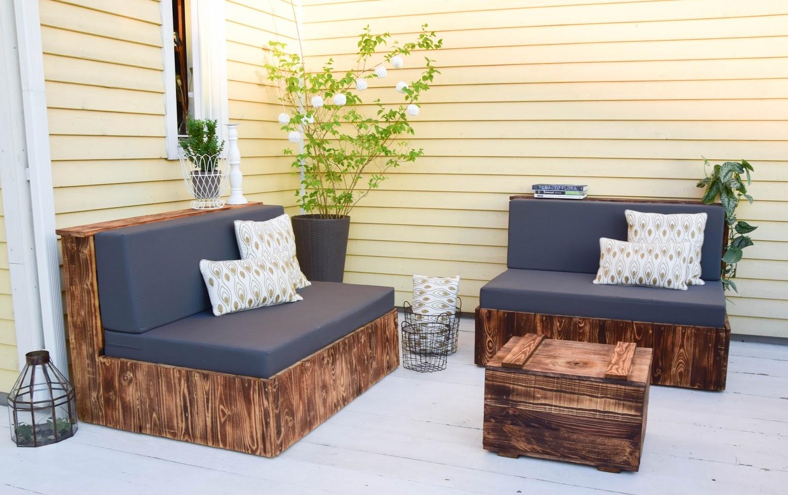 Flambierte Diy Sitzmobel Aus Paletten Der Einfache Und Gunstige Weg