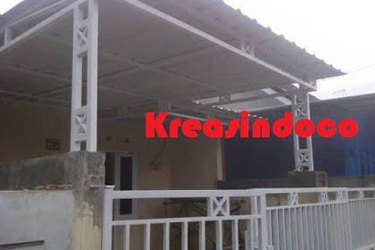Canopy Minimalis Atap Alderon di Jatiasih Bekasi