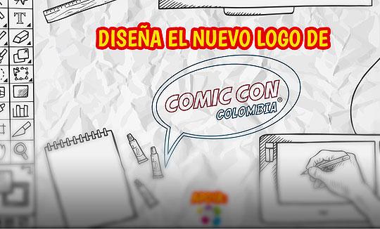 Diseña el logo de Comic Con Colombia
