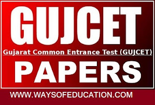 GUJCAT MATHS ALL OLD PAPER