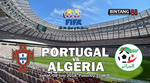 Prediksi Portugal vs Algeria 8 Juni 2018