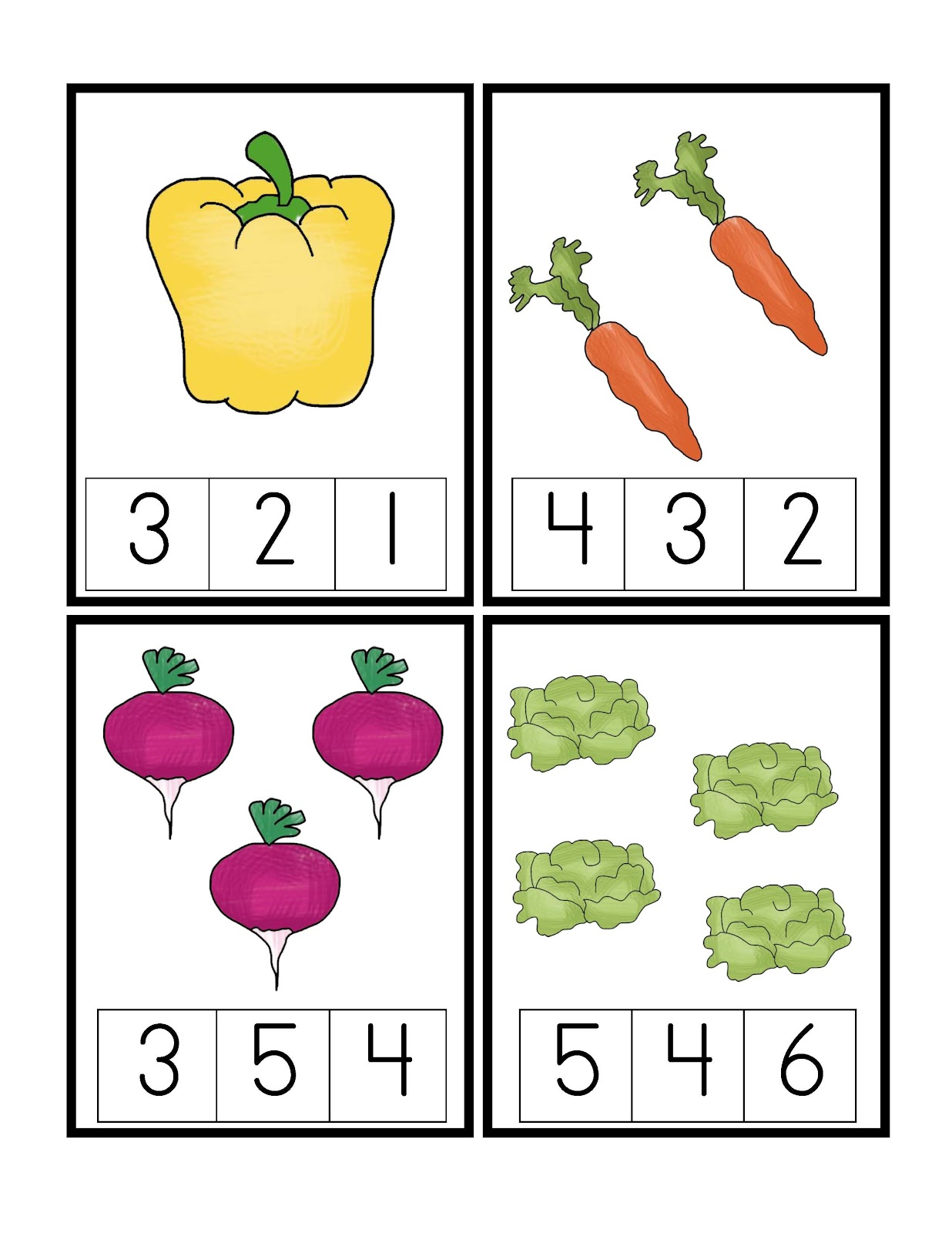 April Preschool Printables