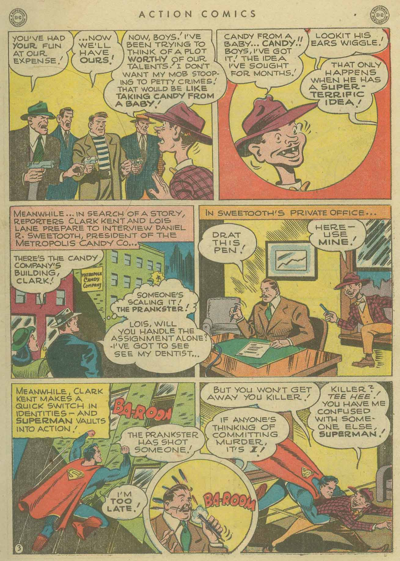 Read online Action Comics (1938) comic -  Issue #104 - 5