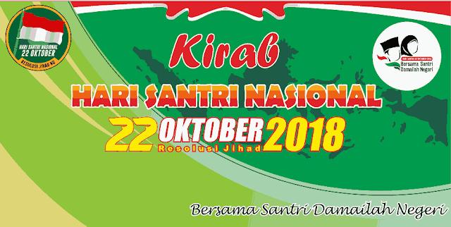 Download Kumpulan Spanduk Kirab dan Baliho Tema Hari Santri Nasional  Kumpulan Spanduk Kirab dan Baliho Tema Hari Santri Nasional 2018
