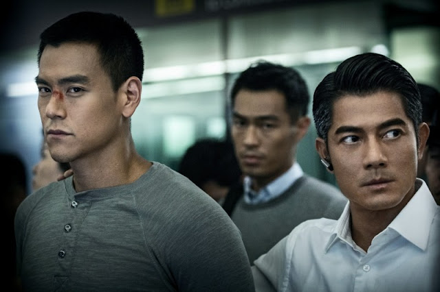 Eddie Peng Aaron Kwon Cold War 2 movie still