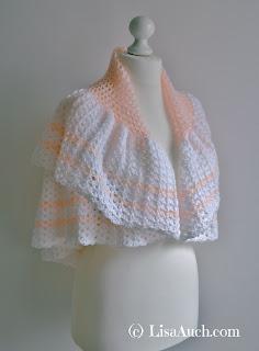 REE Crochet Pattern Circular Crochet Baby Shawl