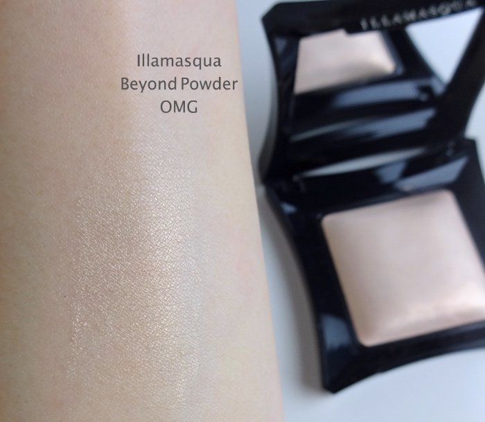 Illamasqua Beyond Powder OMG review swatch