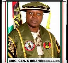 Brig. Gen. Shuaibu Ibrahim