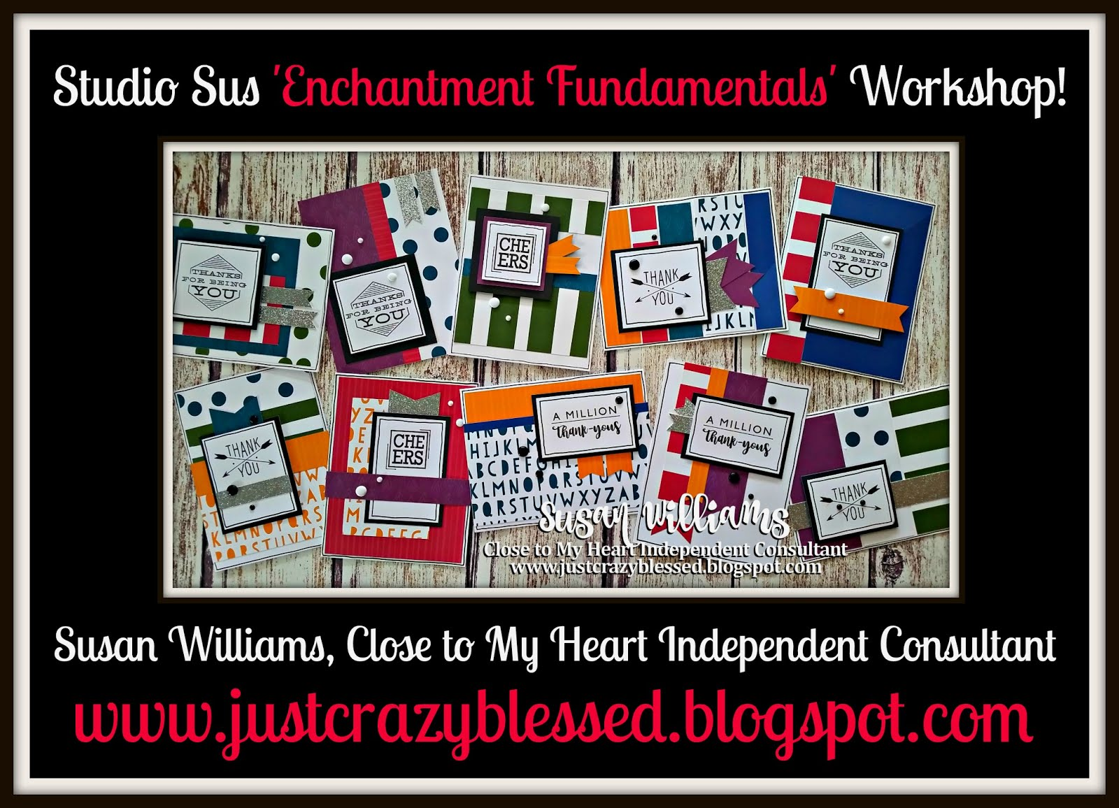 'Enchantment Fundamentals' Bulk Cardmaking Workshop!