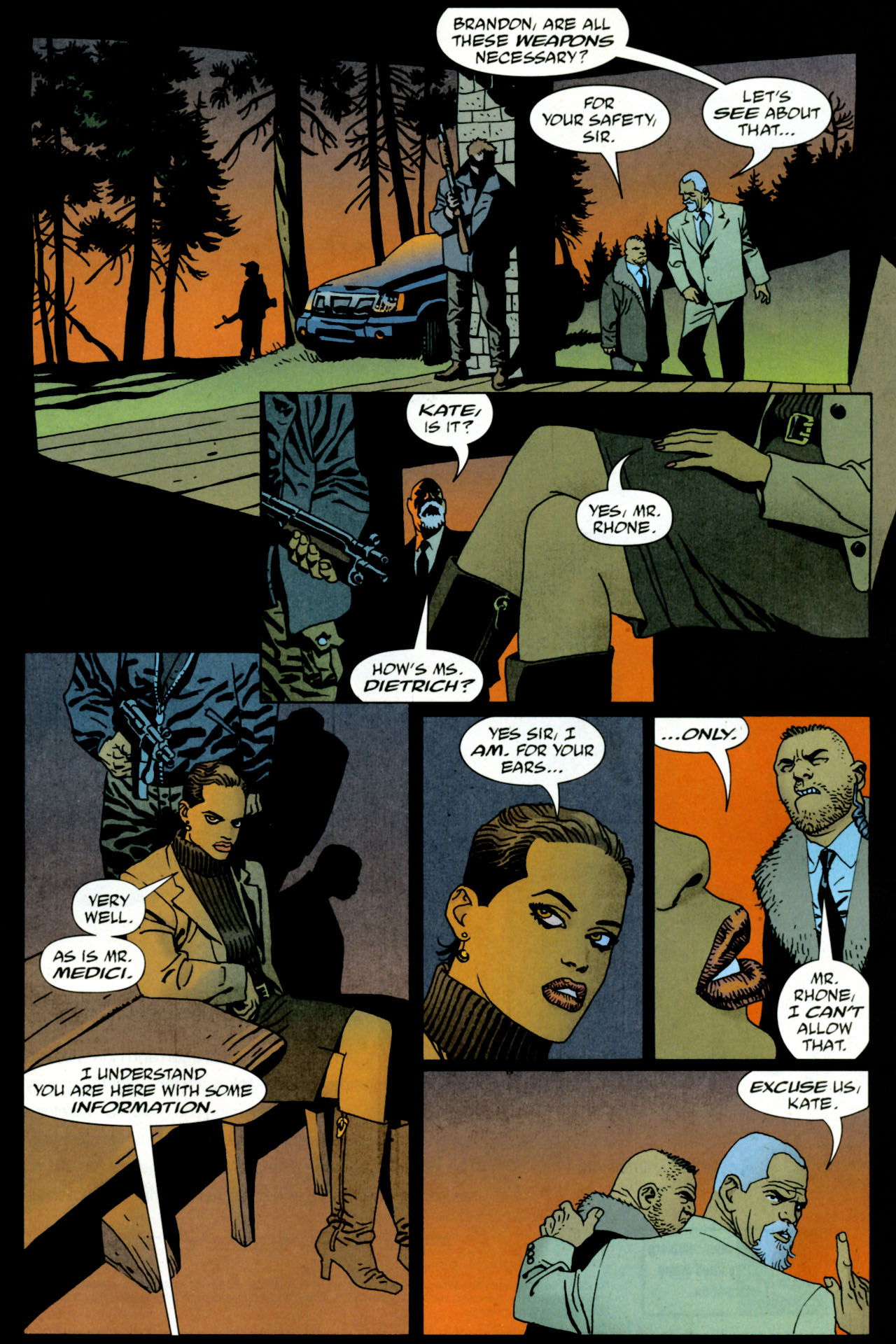 Read online 100 Bullets comic -  Issue #84 - 12