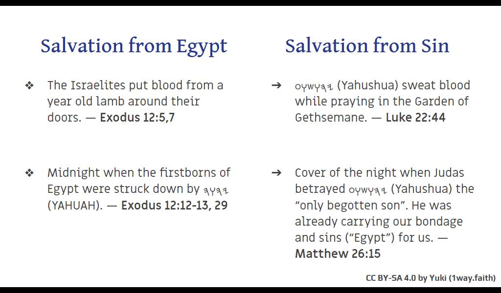 Feast of 𐤉𐤄𐤅𐤄 (YAHUAH)'s Passover slide-03
