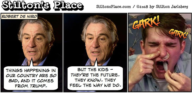 stilton's place, stilton, political, humor, conservative, cartoons, jokes, hope n' change, condom, snorting, de niro, nra, missing key