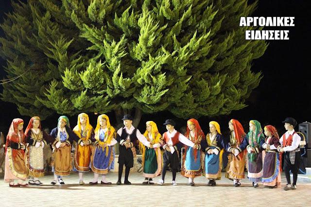 Βραδιά παραδοσιακών χορών στα Ίρια Αργολίδος (βίντεο)