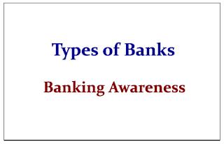 Types of Banks- Banking Awareness