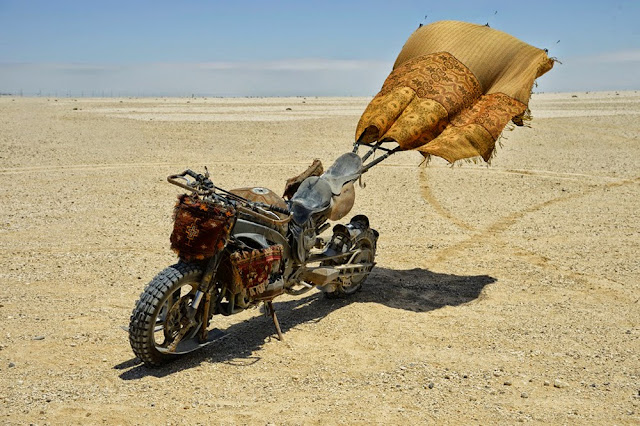 Motorcycle from Mad Max 12