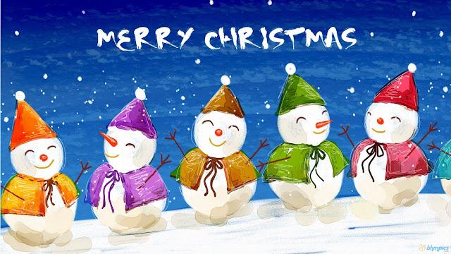 merry christmas cards printable