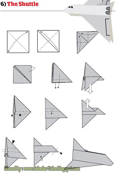 Cara Membuat Pesawat Kertas Yang Bisa Terbang Super Jauh: Tutorial Origami Pesawat Terbang