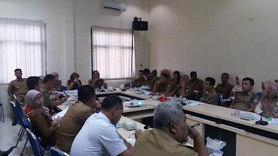 Bappeda Pringsewu Gelar Rapat Penyempurnaan Penyusunan RPJMD 2017-2022