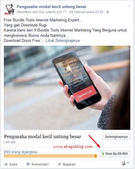 Cara Mudah Promosi Facebook Ads