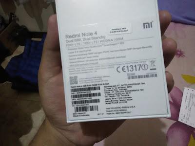 Xiaomi Redmi Note 4X Resmi