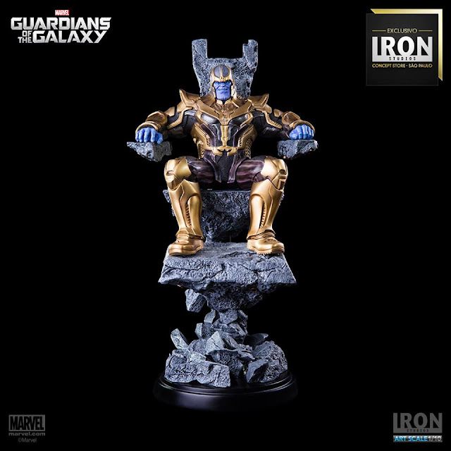 Estátua Thanos Iron Studios