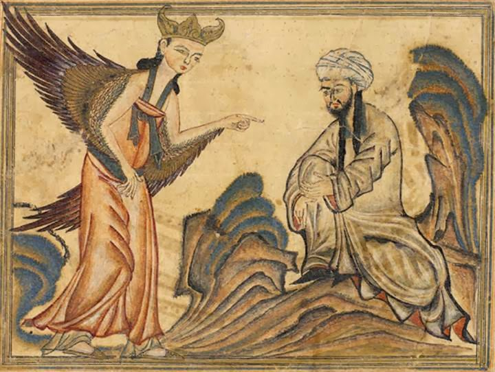 Mohammed_receiving_revelation_from_the_a