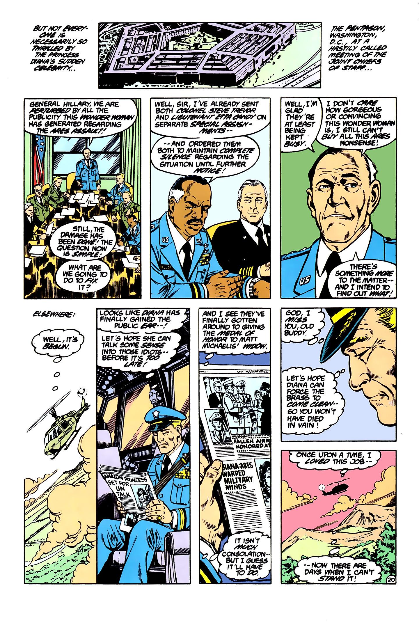 Read online Wonder Woman (1987) comic -  Issue #7 - 20