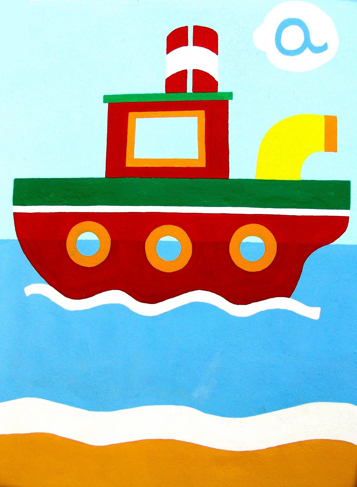 Lalibelula abril 2011 - Imagenes de barcos infantiles ...