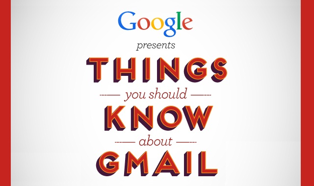 Image: Things you should Know about Gmail #infographic