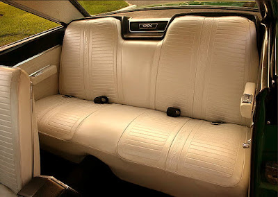 1967 Plymouth GTX 440 Magnum Sports Coupe Seat Rear