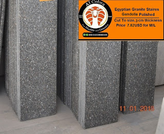 Egyptian granite staires