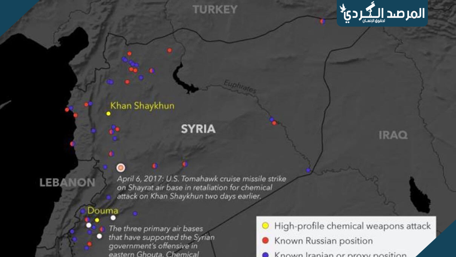 مصادر أمريكية تكشف عن المناطق المتوقعة للضربة العسكرية القادمة في سوريا