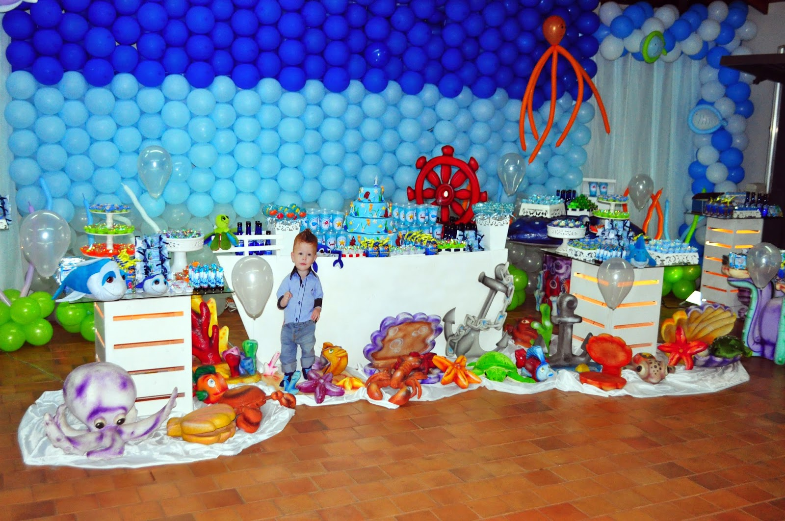 Agora n s somos festeirah decor fundo do mar proven al for Agora decoration