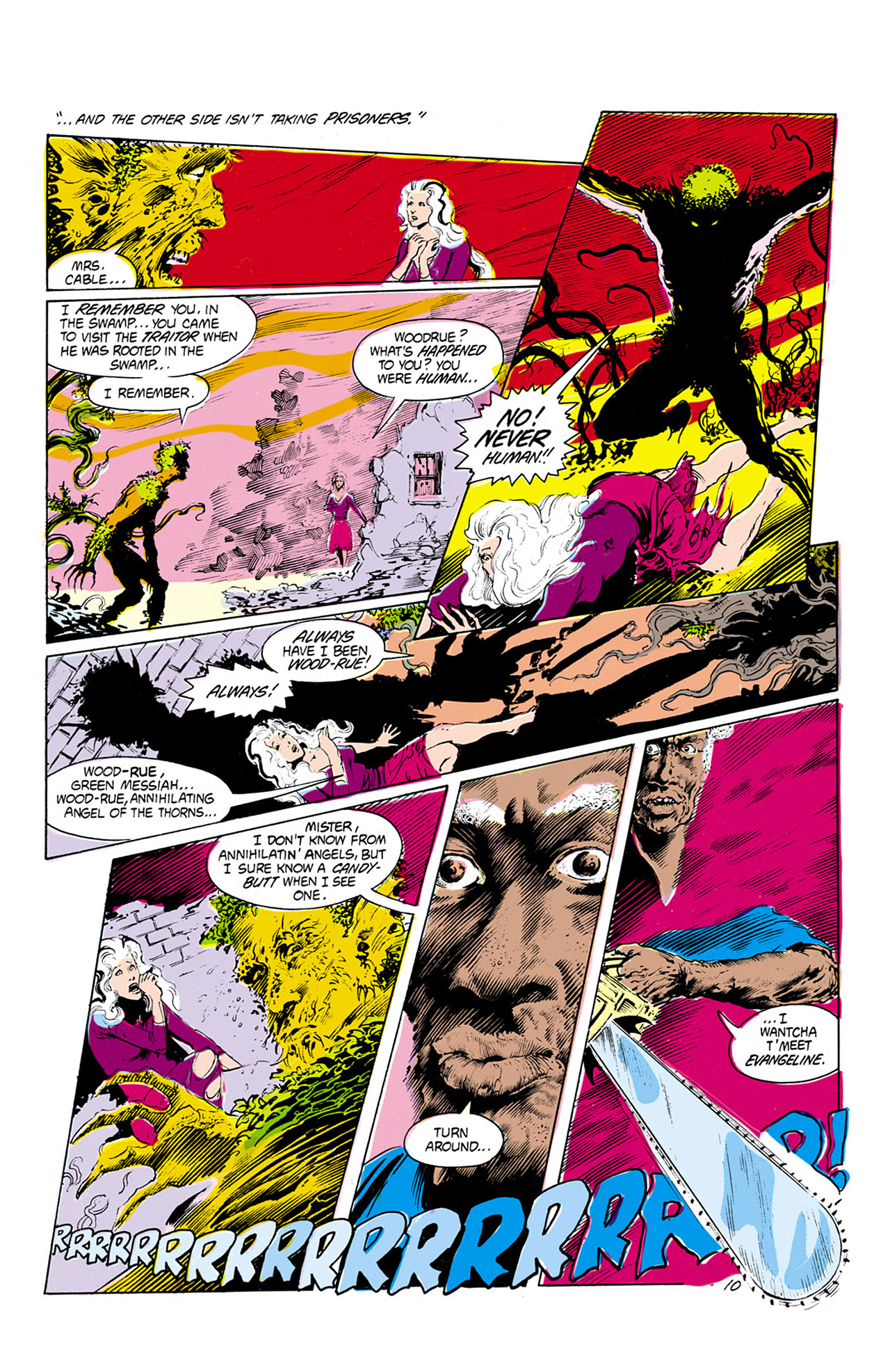 Swamp Thing (1982) Issue #24 #32 - English 11