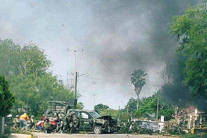 Fuerte enfrentamiento entre Soldados y Sicarios en Díaz Ordaz, Tamaulipas