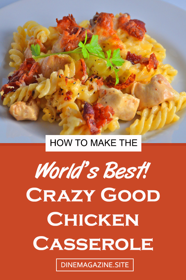 Crazy Good Chicken Casserole | cheesey chicken casserole | chicken casseroles recipes | chicken casserole dish | chicken casserole dinner | casseroles chicken | best chicken casserole #chickencasserole #chickendinner #dinner #casserole #cheesychickencasserole #maindish