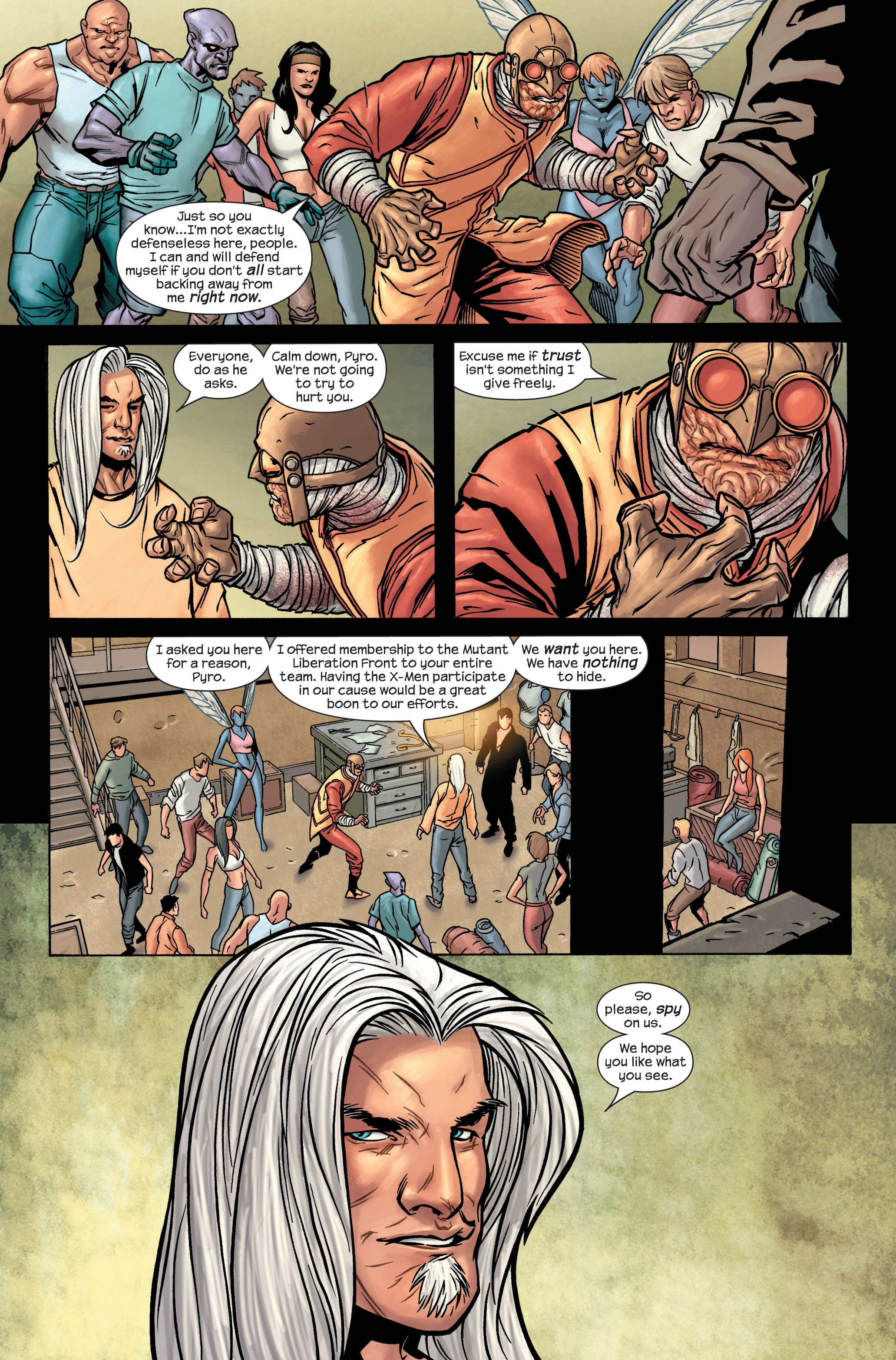 Read online Ultimate X-Men comic -  Issue #86 - 6